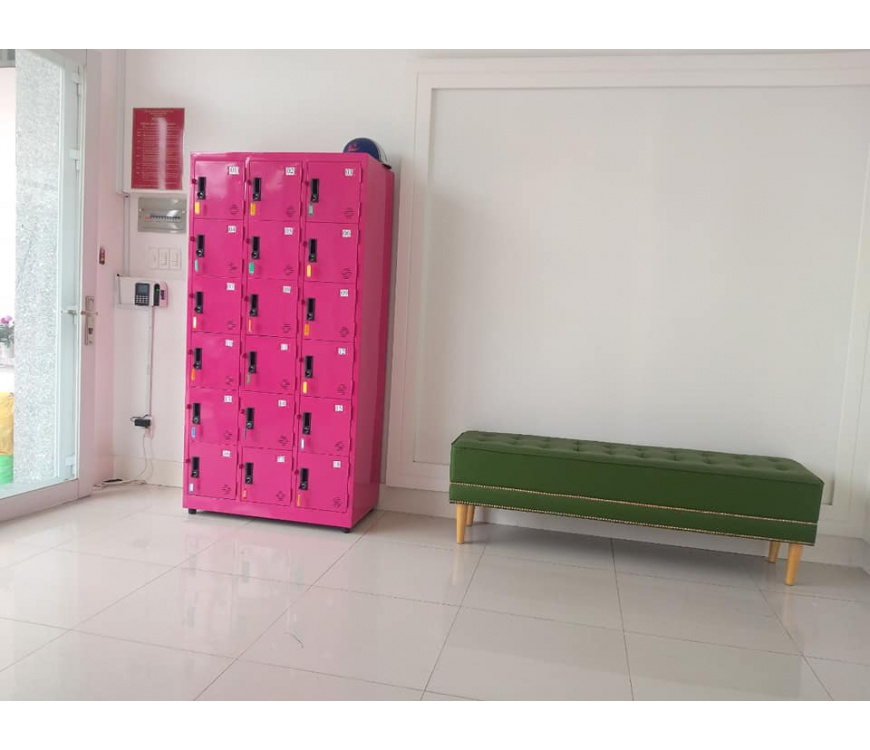Tủ locker 18 hộc